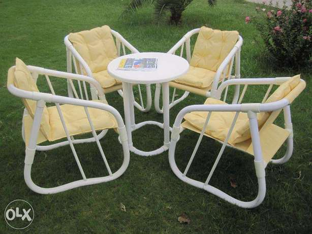 New style pated chair table set in new beautiful Look