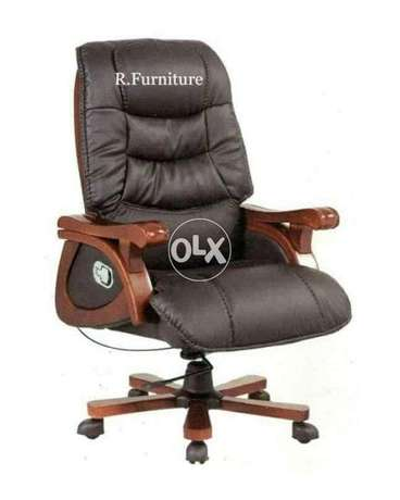 Executive office chair with recliner function