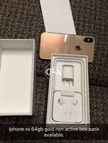 Iphone xs gold non active