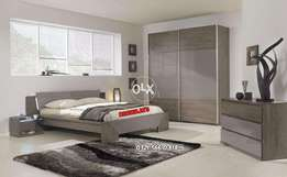 Double bed with side Table special Discount offer~KhaWajA's iNteRioR