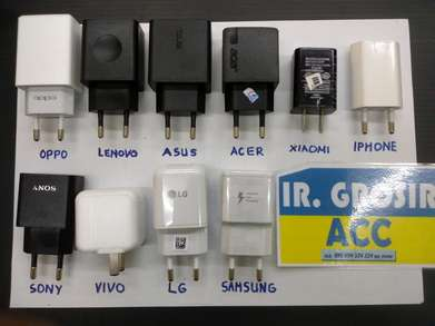 Tersedia Charger / Fastcharger All Tipe : Samsung LG Oppo Vivo Lenovo
