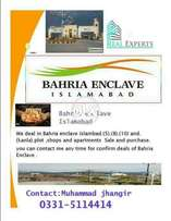 Bahria Enclave B1 5 Marla Boulevard paid Front Open Extreme Location