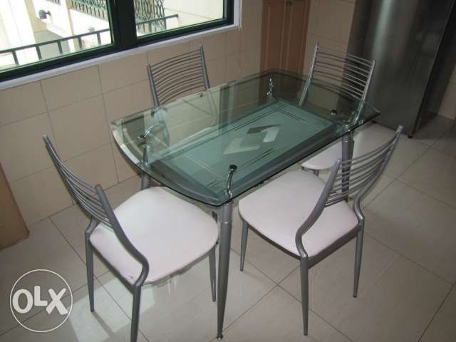 Glass Dining Table For Sale Rectangular 4 Seat Iron Double