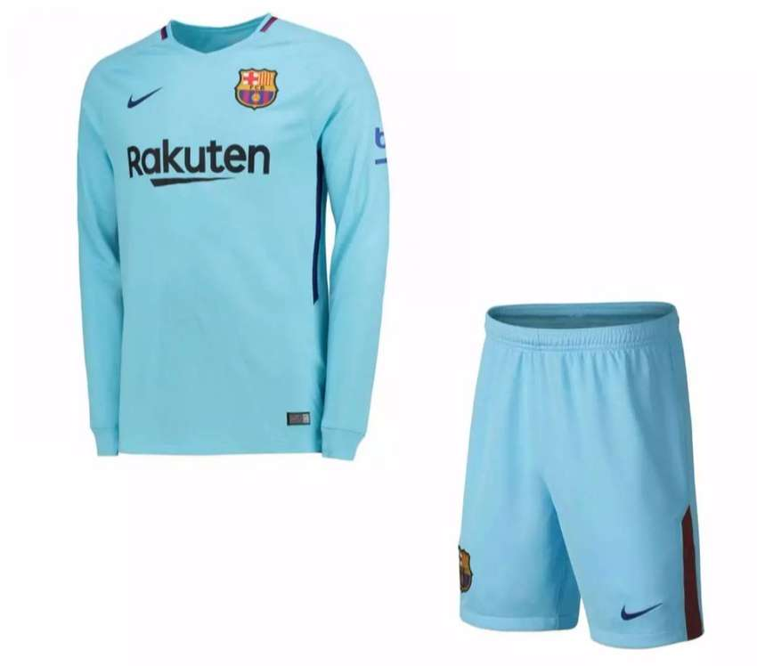 cheaper 75d37 22f7d Barcelona Away Shirt Home Jersey Kit - 2018 2019