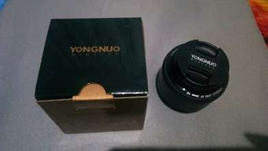 Yongnuo 35mm F.2 for canon