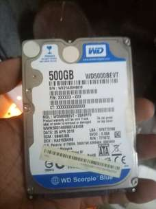 hard disk laptop 500Gb