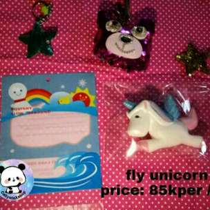 fly unicorn squishy slow and soft
