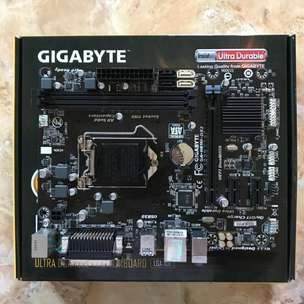 Jual Motherboard GA-H81M-DS2 Second