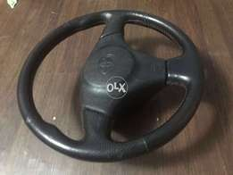 Rare Jdm Toyota Steering Wheel With Airbag