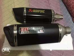 Exhausts Mufflers Silencers Heavy bikes sounds zxmco leo 200cc