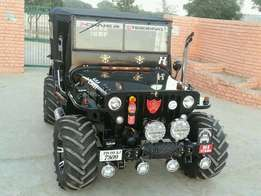 Open jeep on order as customers choice in 35