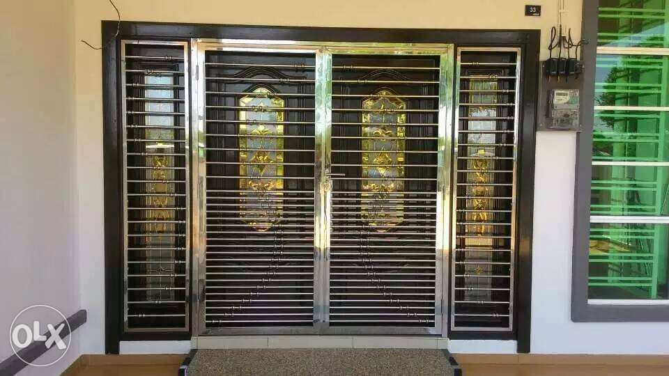Stainless Steel Customized Gates Window Grills And Doors