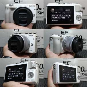canon eos m3+15-45 STM siap ngevlog