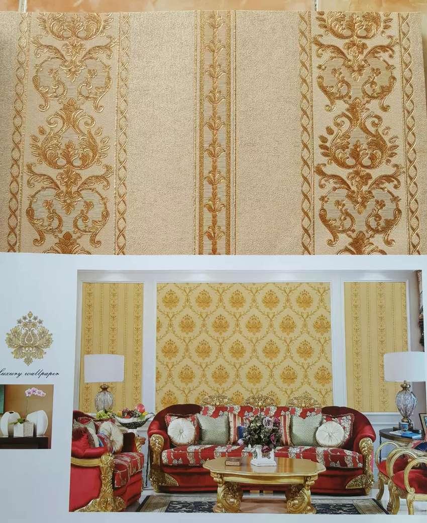 Wallpaper Dinding Harga Sudah Berikut Pemasangan