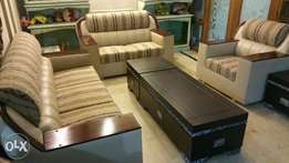 Six seated sofa set new (make on order)