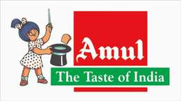 Full time job in Amul India Ltd company onrole hiring urgently contact