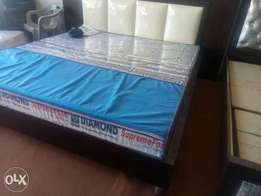 King low bed without matress