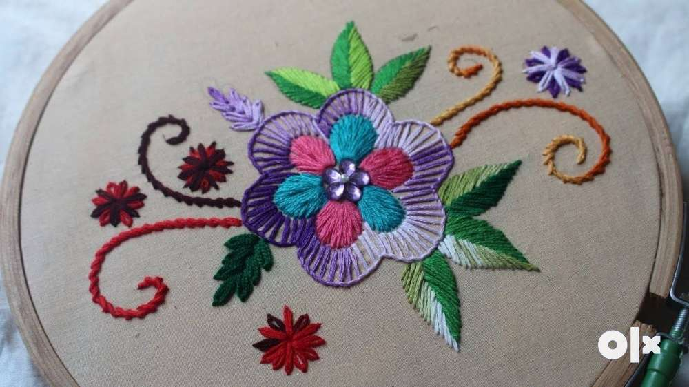 Learn Hand Embroidery Classes Per Student 350 Rs Jamshedpur