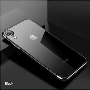 CAFELE iPhone XS / XS Max / XR Plating Luxury Fashion Transparent Case