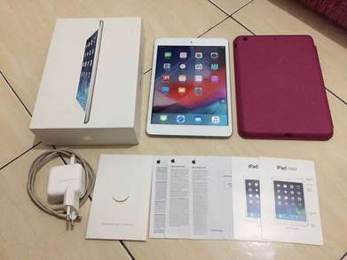 ipad mini 2 retina display cellular+wifi 32GB silver resmi ibox