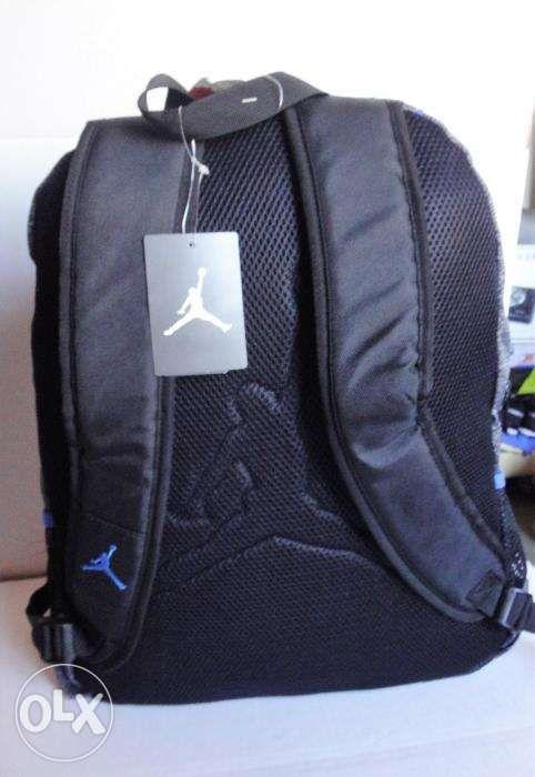 Nike Backpack Air Jordan Jumpman23 Black Blue 9A1223 NewUSA in ... 88b704502b