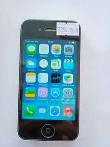iphone 4g 16gb hitam