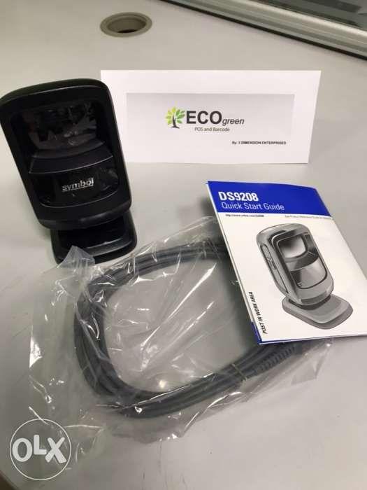 Barcode Scanner Motorola Symbol Ds9208 Omnidorectional Scanner In