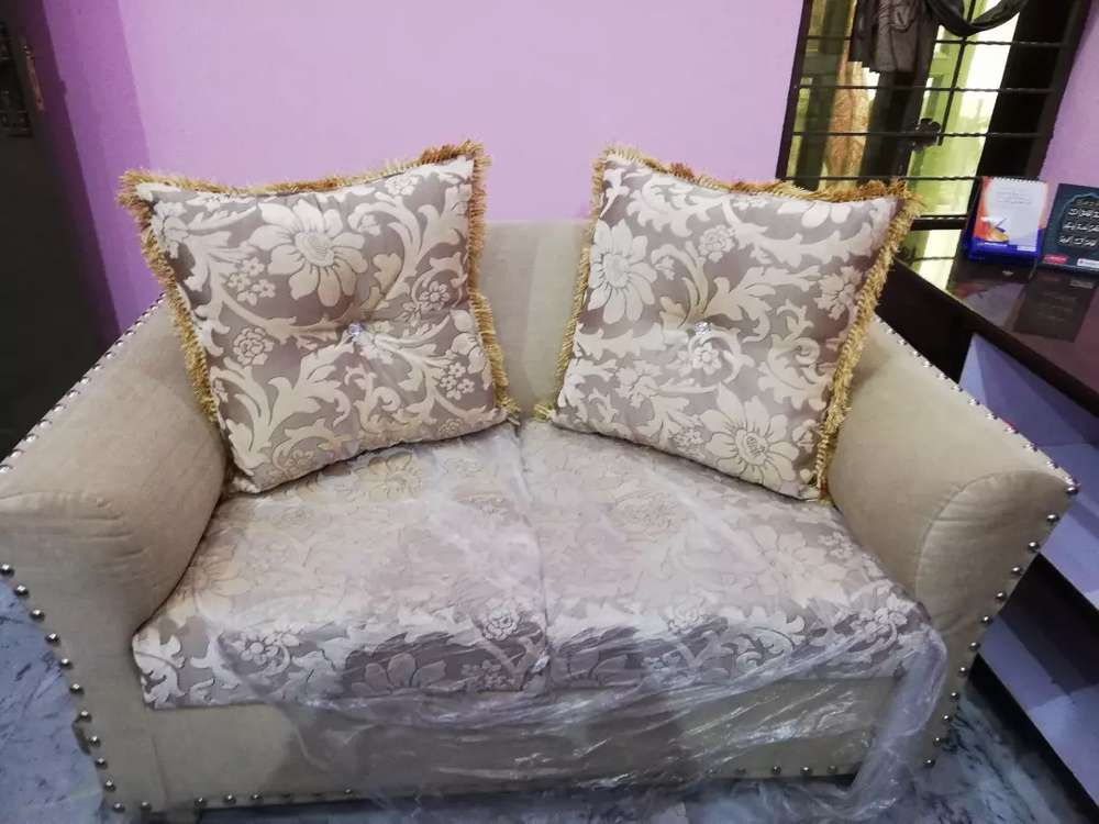 Brand New Sofa No Use With Kushans
