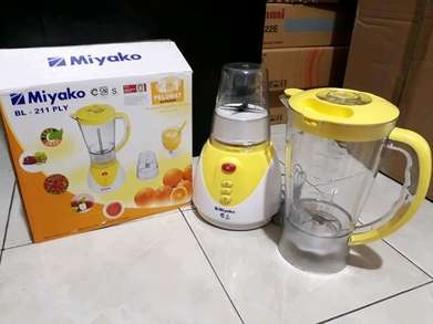 Freeantar blender miyako bl 211ply mika with dry mill - 1,5liter