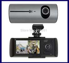 R300 w/ GPS 2 Way Recorder Front Car and Inside Car Full HD Clear
