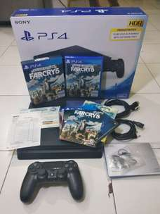 PS4 Slim OFW 500GB (CUH 2106 - Des '18) + FarCry 5 Deluxe Edition
