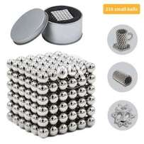 4mm Magnetic bucky balls in silver colour