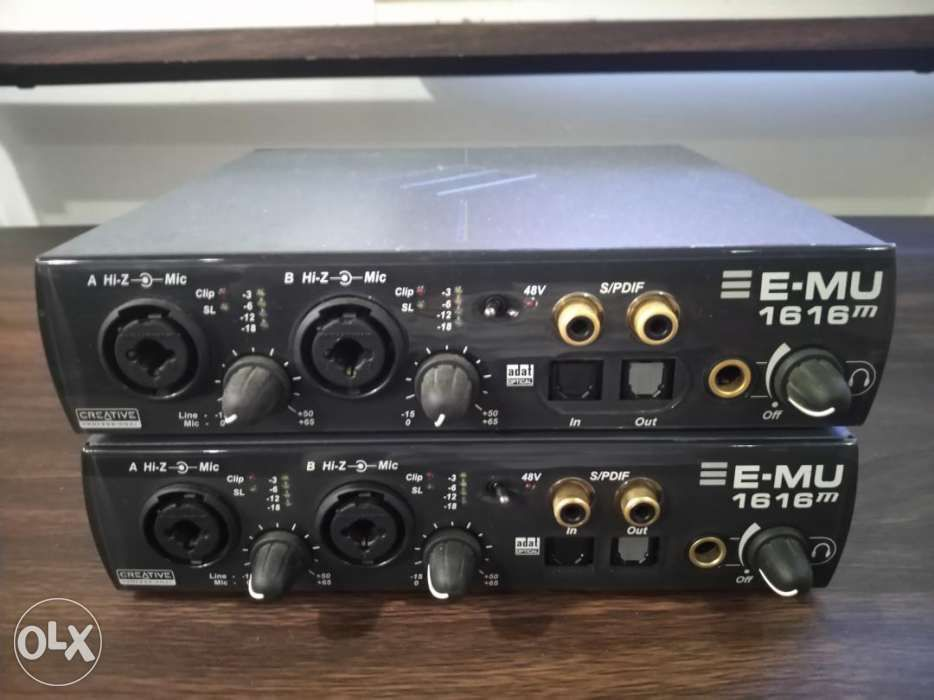 E-MU 1616M PCIE AUDIO INTERFACE WINDOWS 7 X64 TREIBER