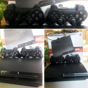 ps 3 slim hdd komplit no minus
