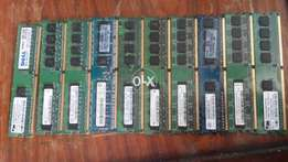 Ddr2 fresh ram available in best price 512mb rs150fix price drigh road