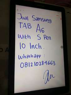 Jual Samsung Galaxy Tab A6 10.1 with s pen
