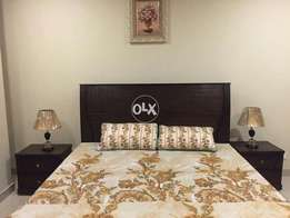 One bed room fully furnished flats 4rent in Bahria town rwp For Rent