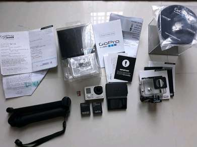 Dijual GoPro Hero 3+ Silver + LCD Touch + Battery Pack Second