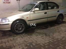Honda civic 1998 manual exi
