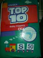 Uni sex top TEN pamper diaper...Imported from CHINA