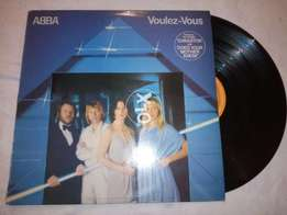 ABBA Greatest Hits LP Record