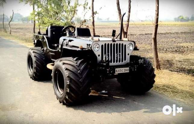Modified open jeep Interested people call me if