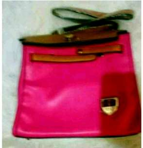 tas fashion warna pink