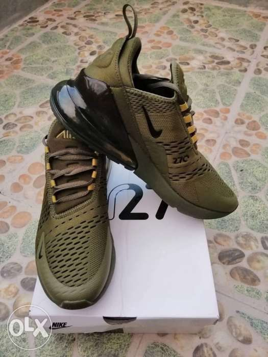 b2ef545d4e Nike Air Max 270 Triple Olive Size 9.5 in Pasay, Metro Manila (NCR ...
