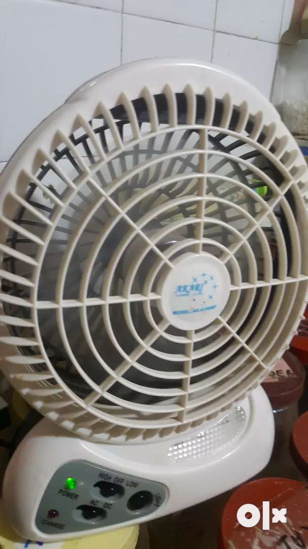 Akari Plus 8106 Model Rechargeable Fan Kitchen Other
