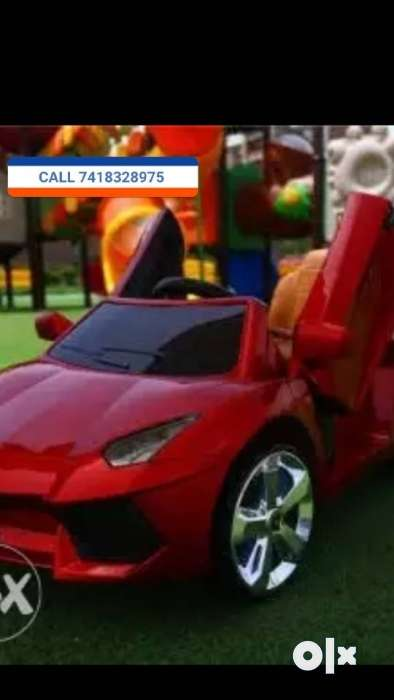 Offer Lamborghini Kids Rechargeable Battery Operated Cars And Bike