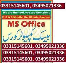 MS_OFFICE (Professional) Government Level Certification Matric std