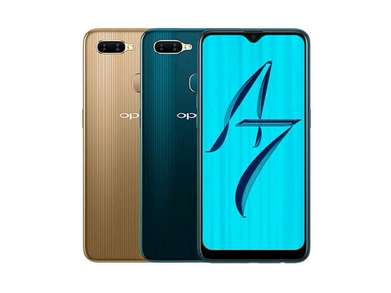 promo oppo a7 ram 3gb internal 64gb 4G fungerprint