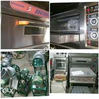 imported pizza ovens southstar , with complete range