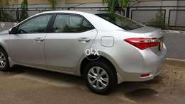 Toyota corolla Manual silver only 7660 kms done